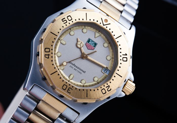 TAG Heuer - 3000 Series Professional  - Ref. 934.213  - Hombre - 1980-1989