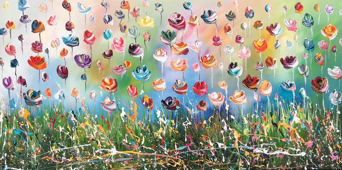 Gena - Colorful Flowers