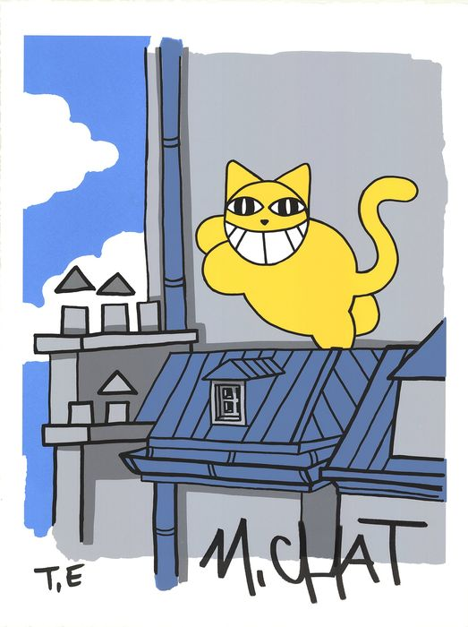 M.Chat aka Thoma Vuille - Paris, Châtelet