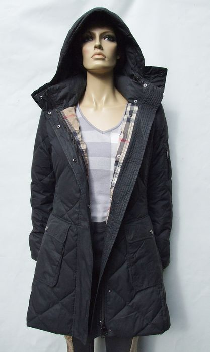Burberry - Goose Down Hooded Coat - Size: S, XS