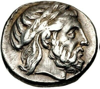 Greece (ancient) - Kings of Macedon. AR Tetradrachm, Philip II (359-336 BC). Posthumous issue struck 316-311 BC. Amphipolis mint - Silver