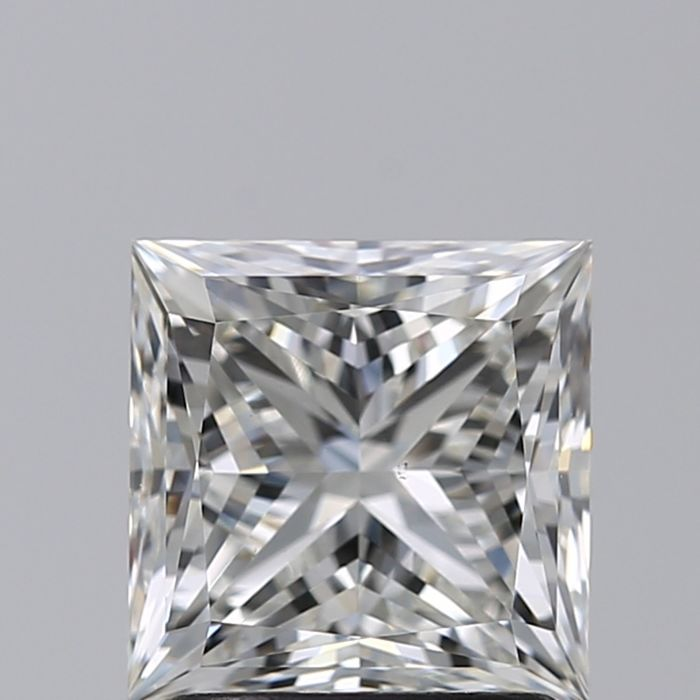 1 pcs Diamond - 0.50 ct - Princess - I - VS2