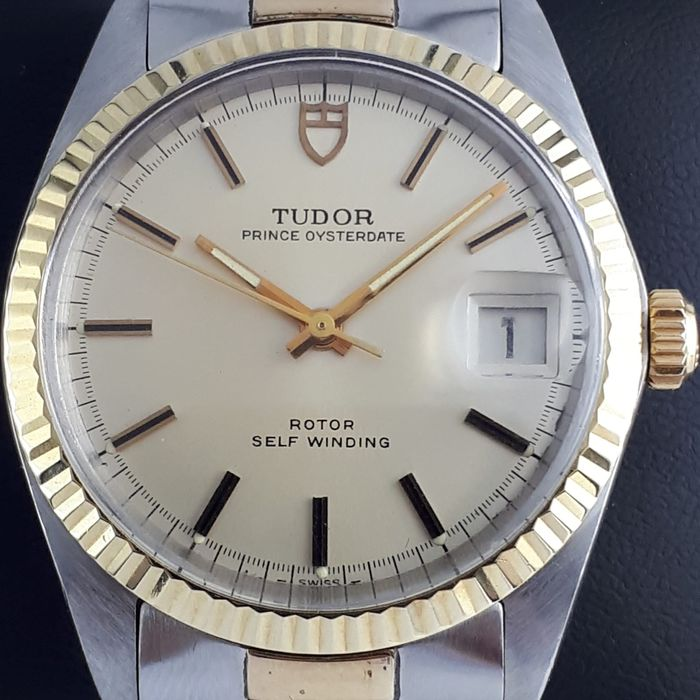 Tudor - Prince Oysterdate, 34mm Stainless Steel & Yellow Gold - Ref: 9071/3 - Men - 1970-1979