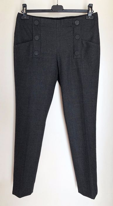 "Chloé ""Tonnerre"" - Casual trousers - Size: EU 36 (IT 40 - ES/FR 36 - DE/NL 34)"