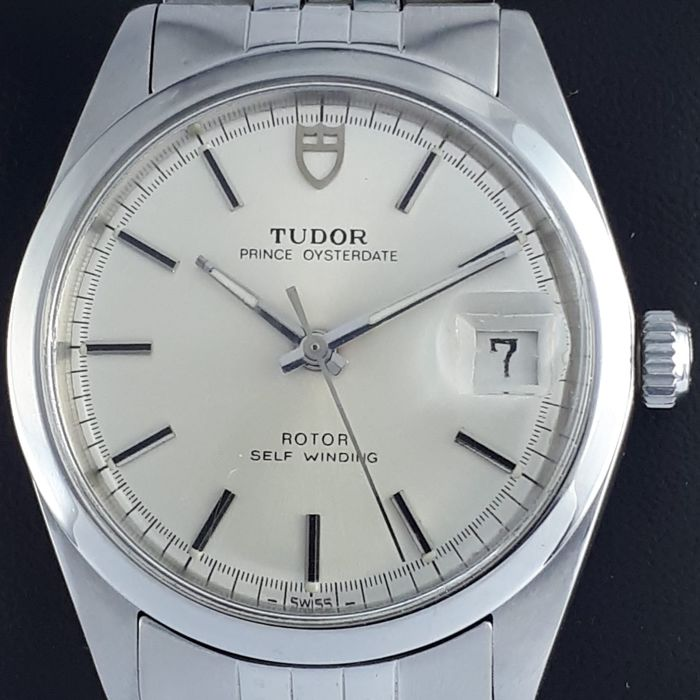 Tudor - Prince Oysterdate, 34mm Stainless Steel, Automatic  - Ref: 9050/0 - Men - 1970-1979