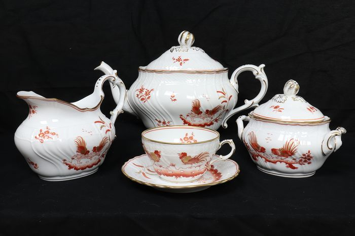 Richard Ginori - Tea service for 6 (17) - Porcelain