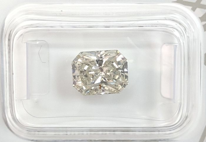Diamante - 2.62 ct - Radiante - I - SI2