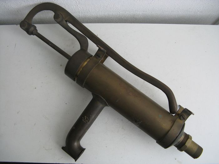 Antique ship pump - Brass - Early 20th century