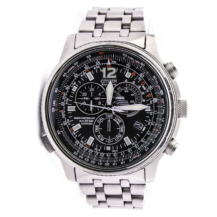 Citizen - AS4020-52E SOLAR CHRONO RADIO CONTROLLED - Heren - 2011-heden