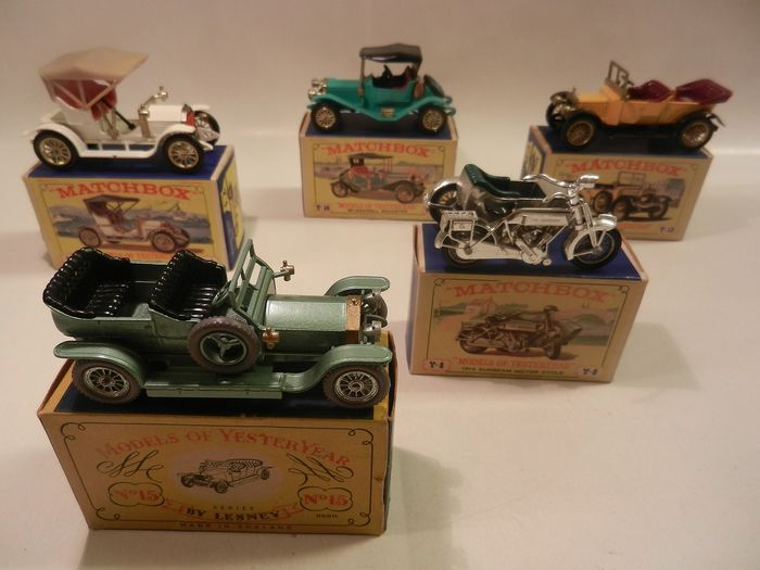 Matchbox - 1:50 - 5 x Models or Yesteryear