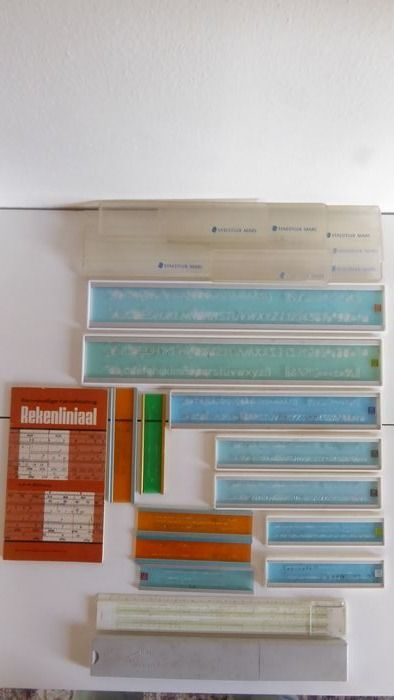 Staedtler mars - Ahrend - Standardgraph - Faber.Castell - architects writing template - slide rule - manual - 14