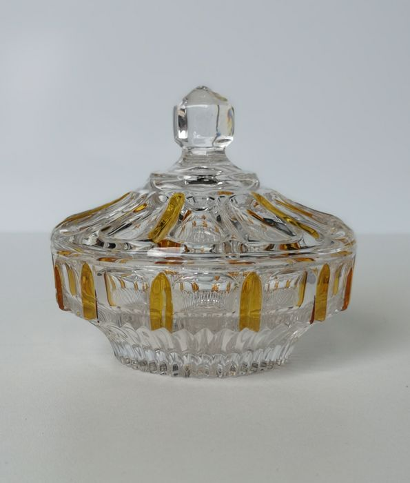 Candy dish (1) - Crystal, Glass