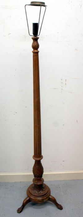 A high table lamp base