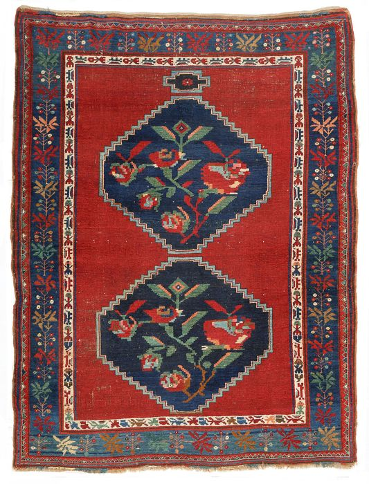 Carpet, Karabagh - Carpet - 225 cm - 176 cm - Wool on Wool - Late 19th century