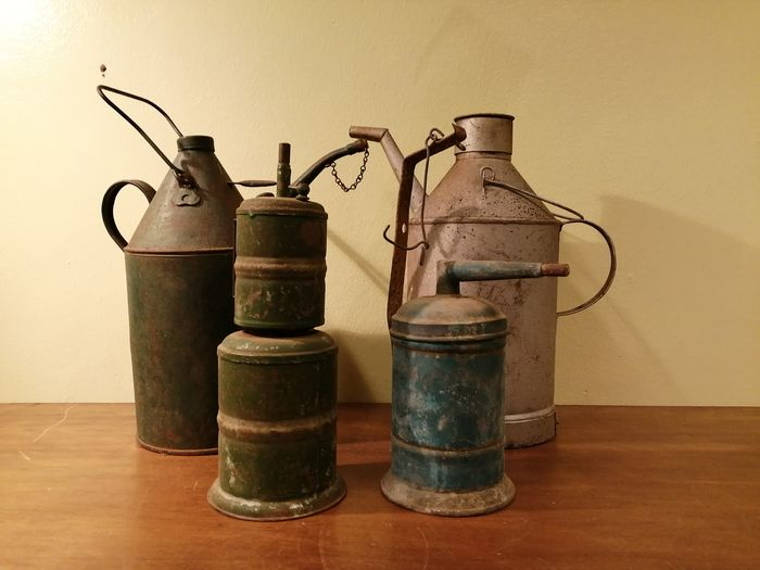 Petroleum jugs - 1920-1930