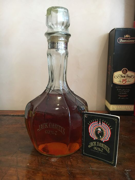 Jack Daniels Old No 7 Inaugural Decanter - b. 1984 - 150cl