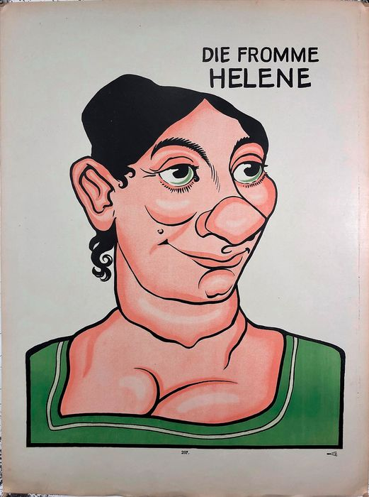 Weissembourg - Die fromme Helene N°267 - Anni 1890