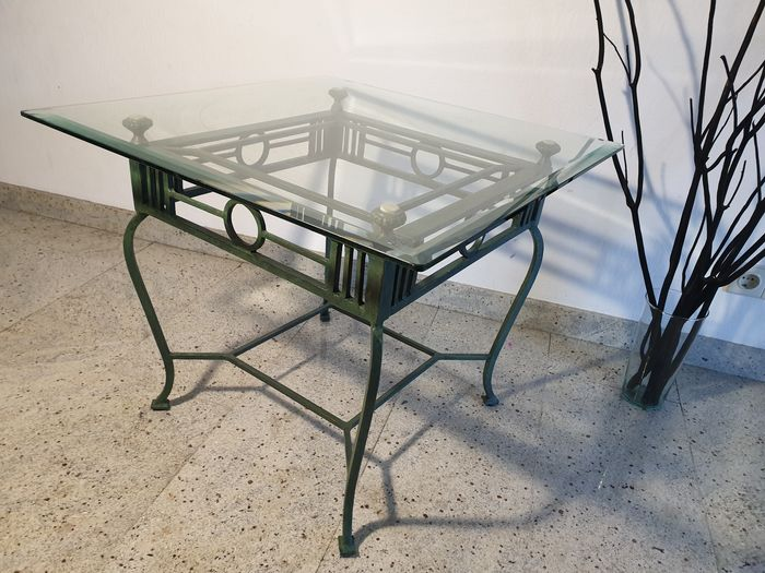 Garden Coffee Table Safety Glass