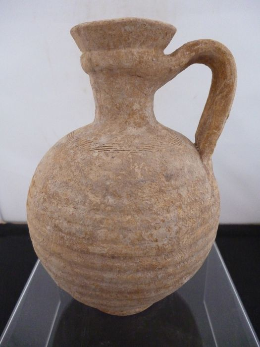 Ancient Roman Pottery (a71) jar - 15×11×0 cm - (1)