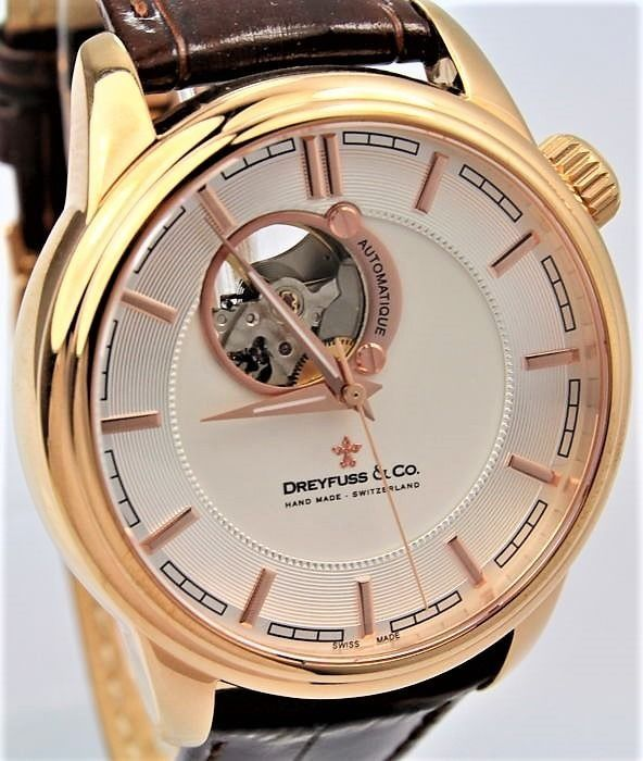 Dreyfuss & Co. - Swiss Hand Made Automatique - Ref. DGS00163/02 - Men - 2011-present