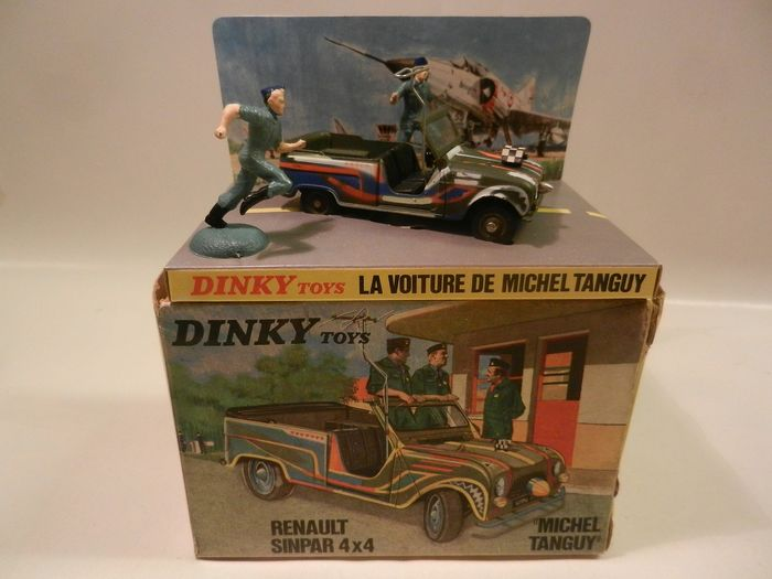 Dinky Toys - 1:43 - 1406 Renault Sinpar 4x4 Michel Tanguy