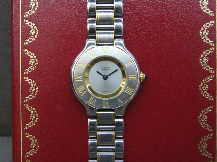 Cartier - Must de Cartier 21 - No Reserve - Ref. 1340 - Women - 1997
