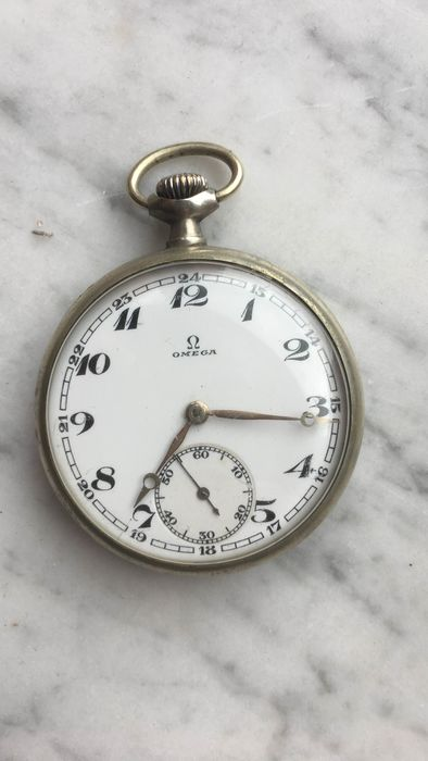 Omega - pocket watch  NO RESERVE PRICE - 8018238 - Unisex - 1901-1949