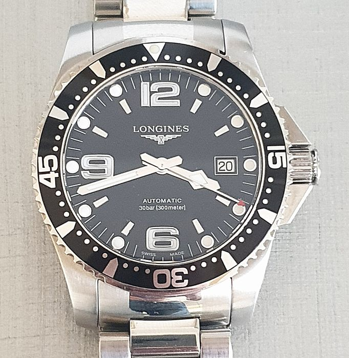 Longines - Hydro conquest  EFC - L3.642.4.56.6 - Heren - 2011-heden