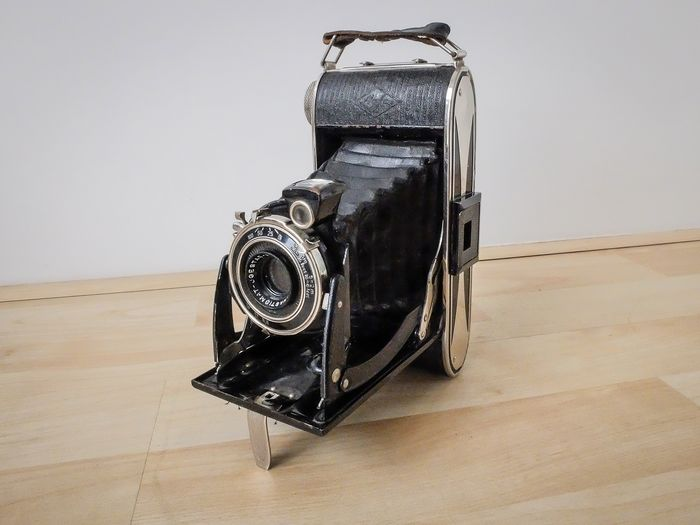 Agfa Billy Record (ca. 1935)  incl. leren camerahoes