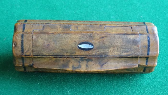 Antique snuffbox mother-of-pearl - 1