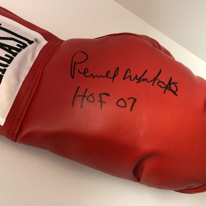 """Boxing - Pernell """"Sweet Pea"""" Whitaker - Boxing glove"""