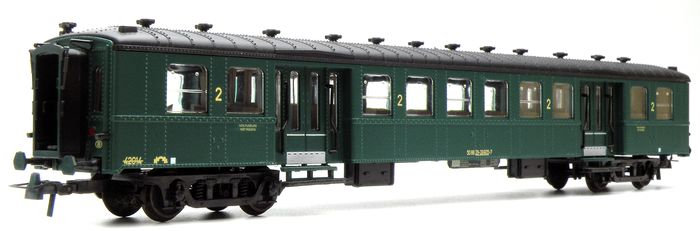 OVB Models H0 - Uit set 4500 - Passenger carriage - Type M1 carriage of the NMBS - NMBS