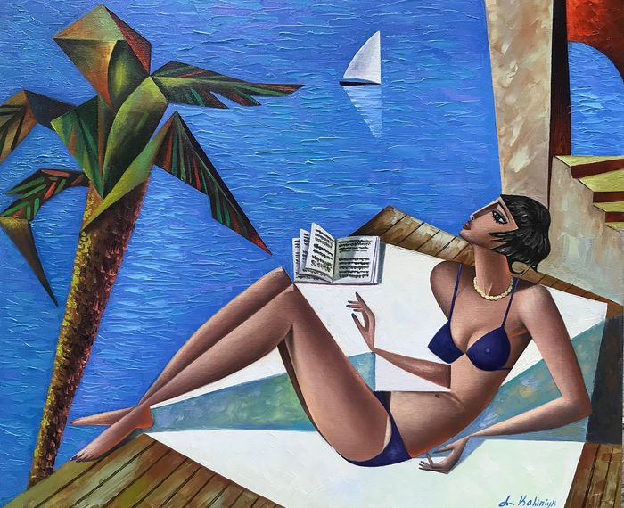 Lili Kalinuk - Morning on the beach