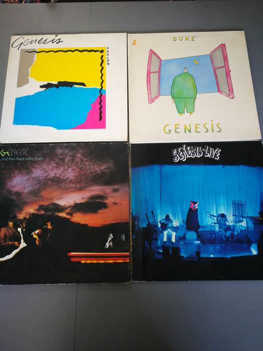 Genesis - Multiple titles - Multiple titles - LP Album - 1976/1981