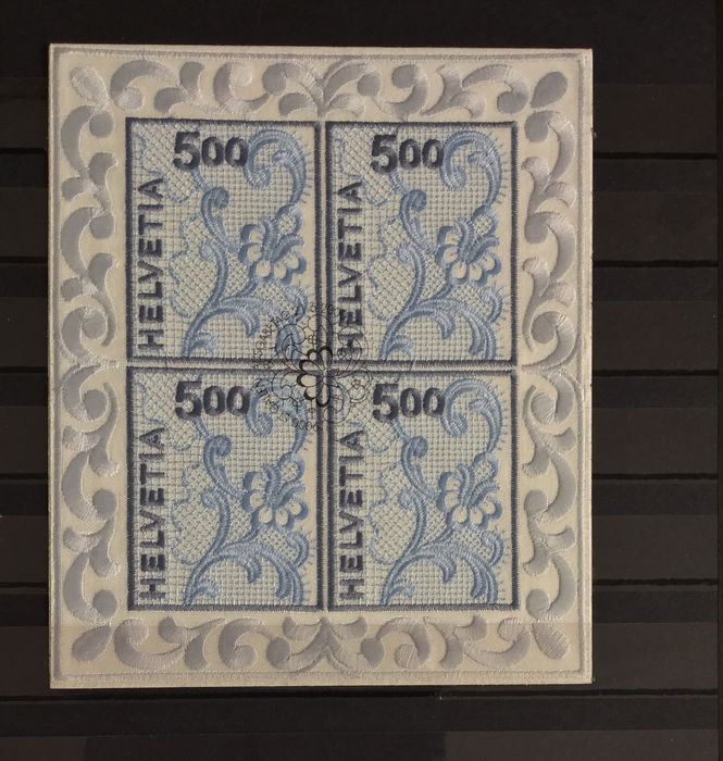 Switzerland - Collection of 45 blocks in stock book