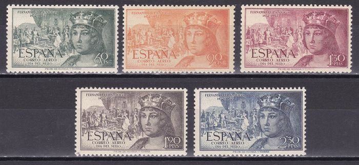 Spanje 1953/1958 - Selection with complete sets