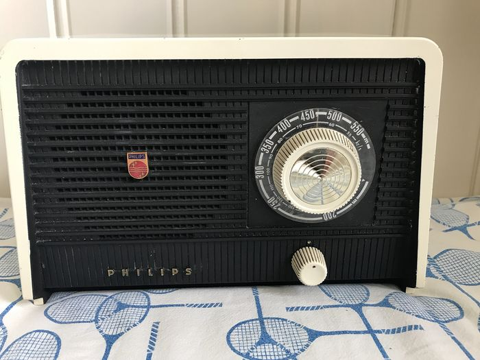 Philips -  B1X75U ( 1957) - Tube radio