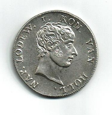 Netherlands, French Occupation - 50 Stuiver  1808  Lodewijk Napoleon - Silver