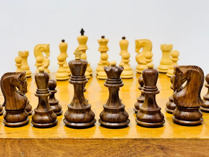 World Chess Zagreb 1959 - Wood-Boxwood