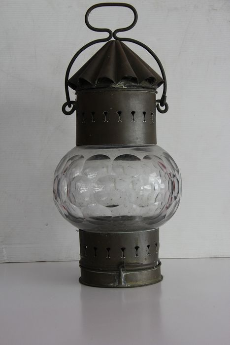All round 360° navigation lamp (1) - Brass - First half 20th century