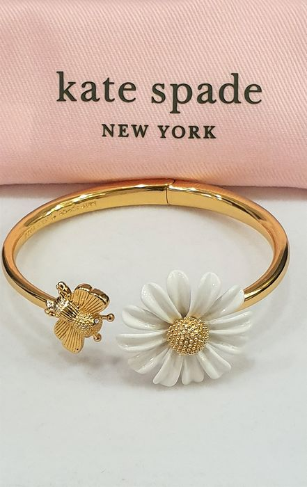 """KATE SPADE - New York - 18kt gold plated """"Into the Bloom"""" Bracelet"""