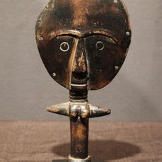 Doll - Wood - Akuaba-Provenance Donald Taitt - Ashanti - Ghana