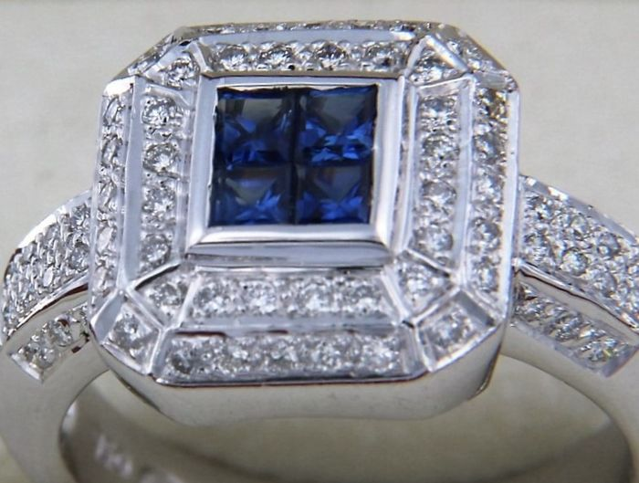 evagold - 18 kt. White gold - Ring