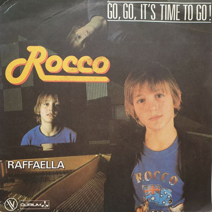 Rocco Reitano - Go, go, it's time to go - Single 45 rpm - 1982/1982