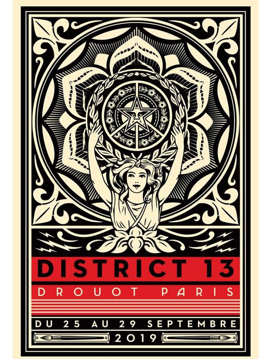 Shepard Fairey (OBEY) - District 13