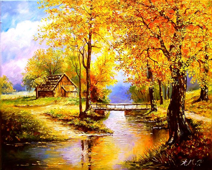 Anna Maria Potera - Autumn in the countryside