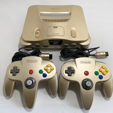 1 Nintendo 64 Toys R Us limited gold color JPN - Console - Without original box