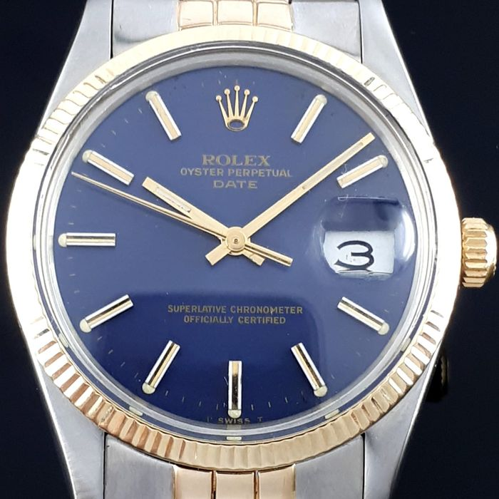 Rolex - Oyster Perpetual Date Just Gold/Steel - 15000 - Men - 1970-1979
