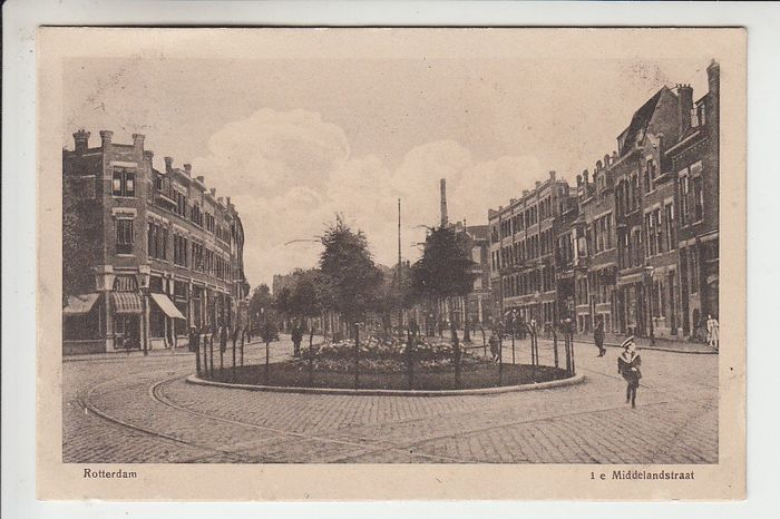 Netherlands - Cityscapes of Rotterdam - Postcards (Collection of 128) - 1900-1960