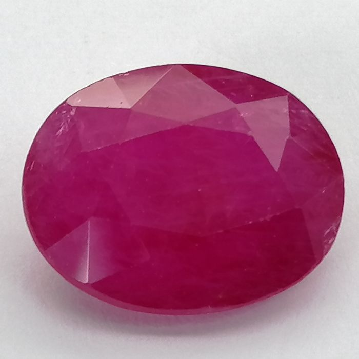 Ruby - 4.07 ct